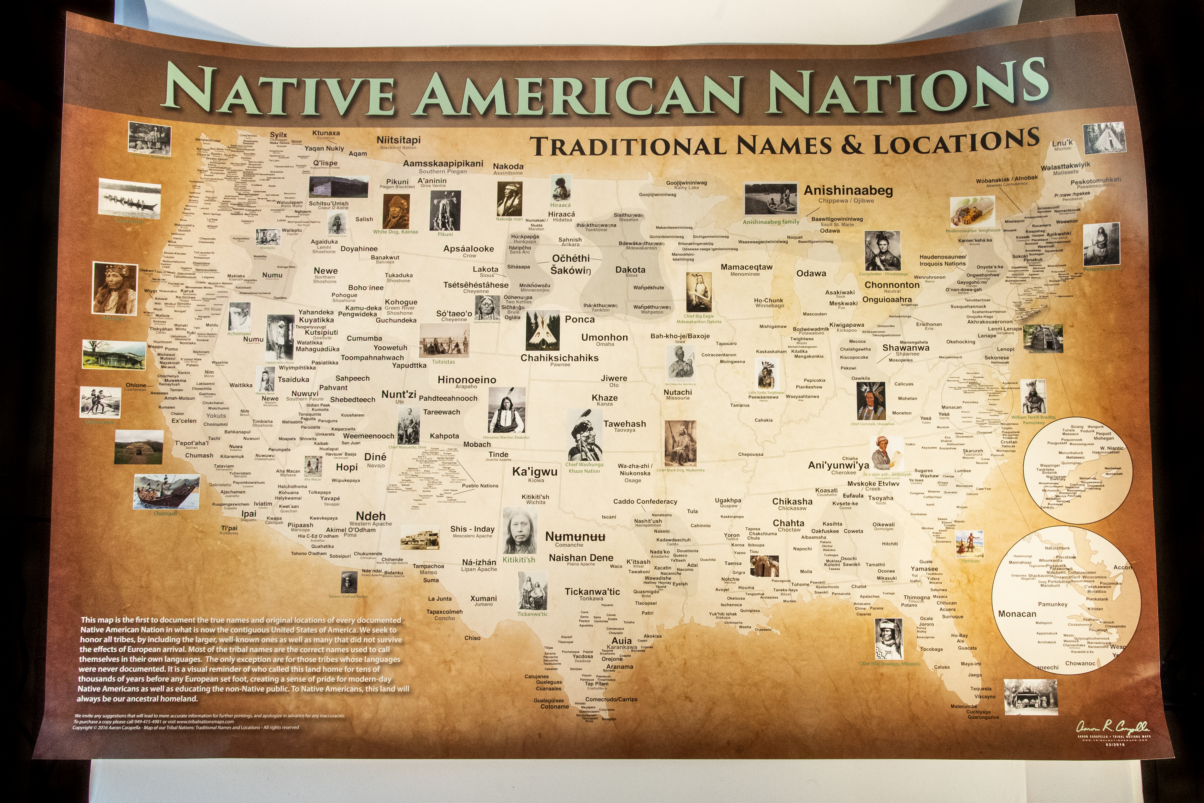 Native American Nations Map 36