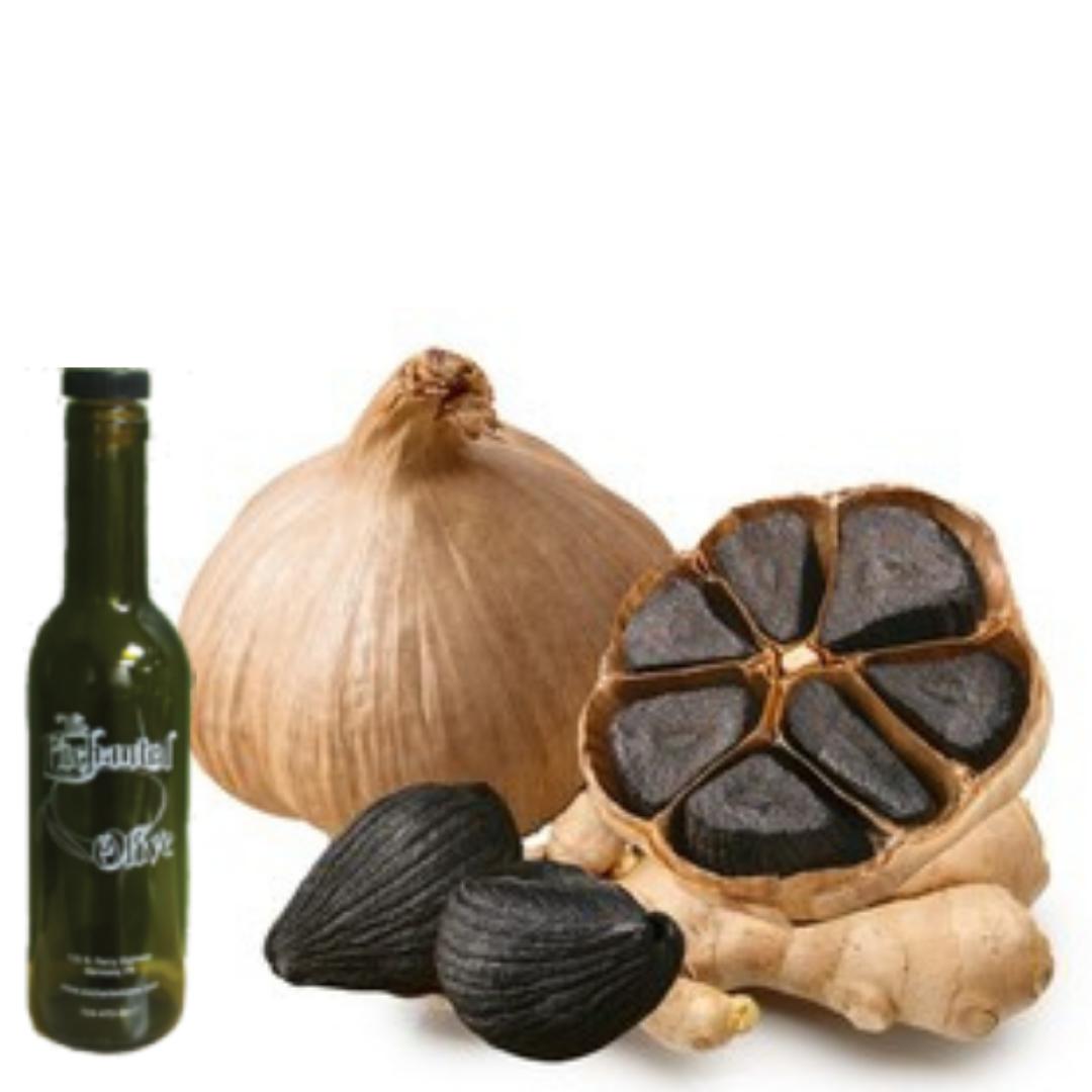 Ginger and Black Garlic Olive Oil