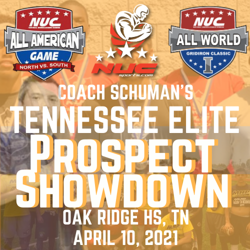 Coach Schuman's Tennessee Elite Camp, April 10, 2021, Oak Ridge HS, TN