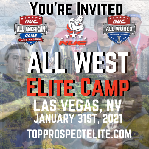 Coach Schuman's All West Elite Prospect Camp, January 31st, 2021 Las Vegas, NV