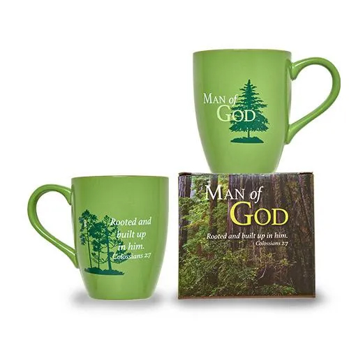 Ceramic Mug - Man of God: Rooted in Christ