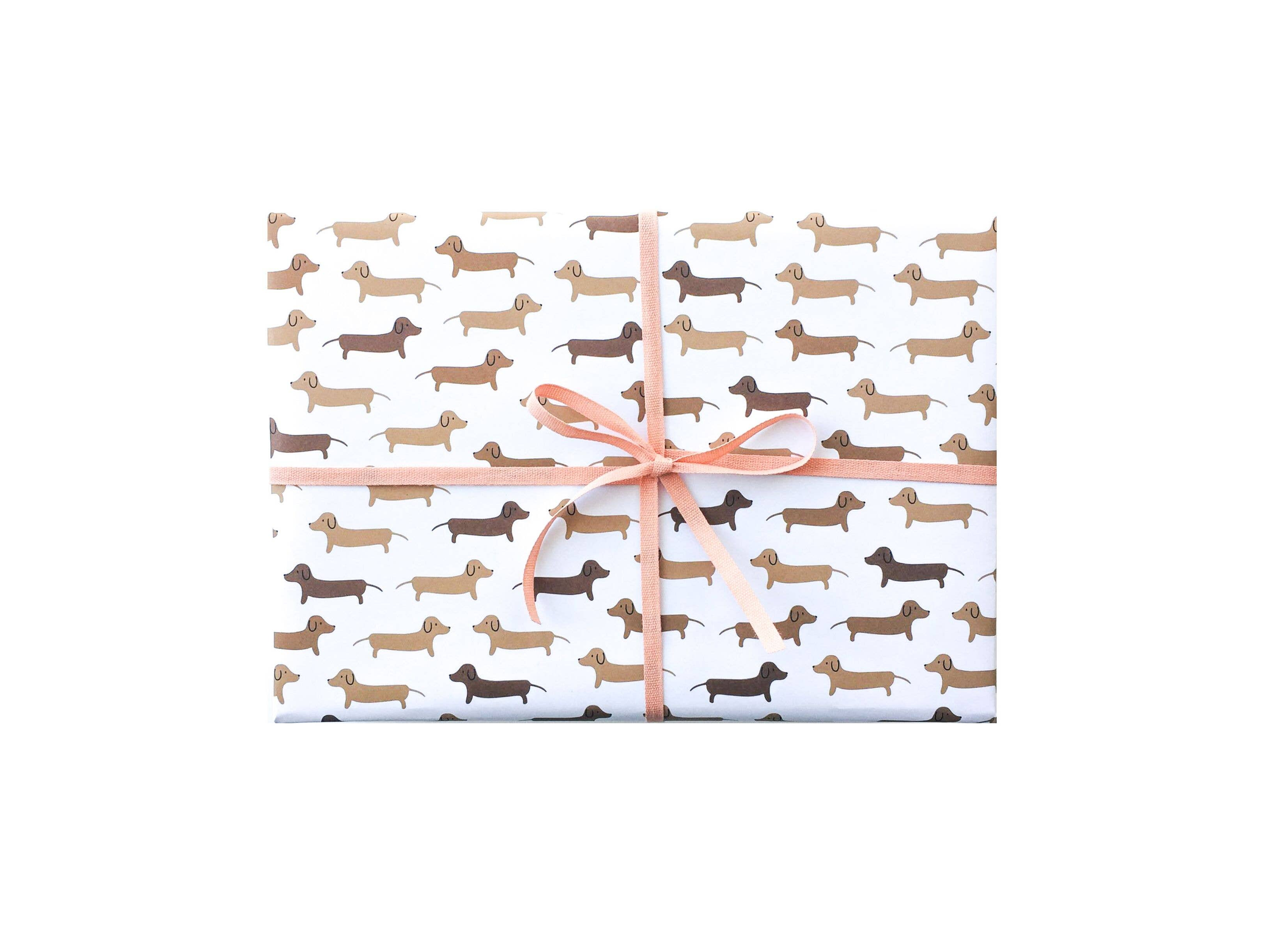 Dachshunds Gift Wrap - Rolls and Sheets