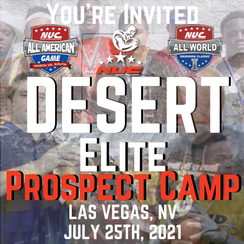 Coach Schuman's Desert Elite Prospect Camp, July 25th, 2021 Las Vegas, NV