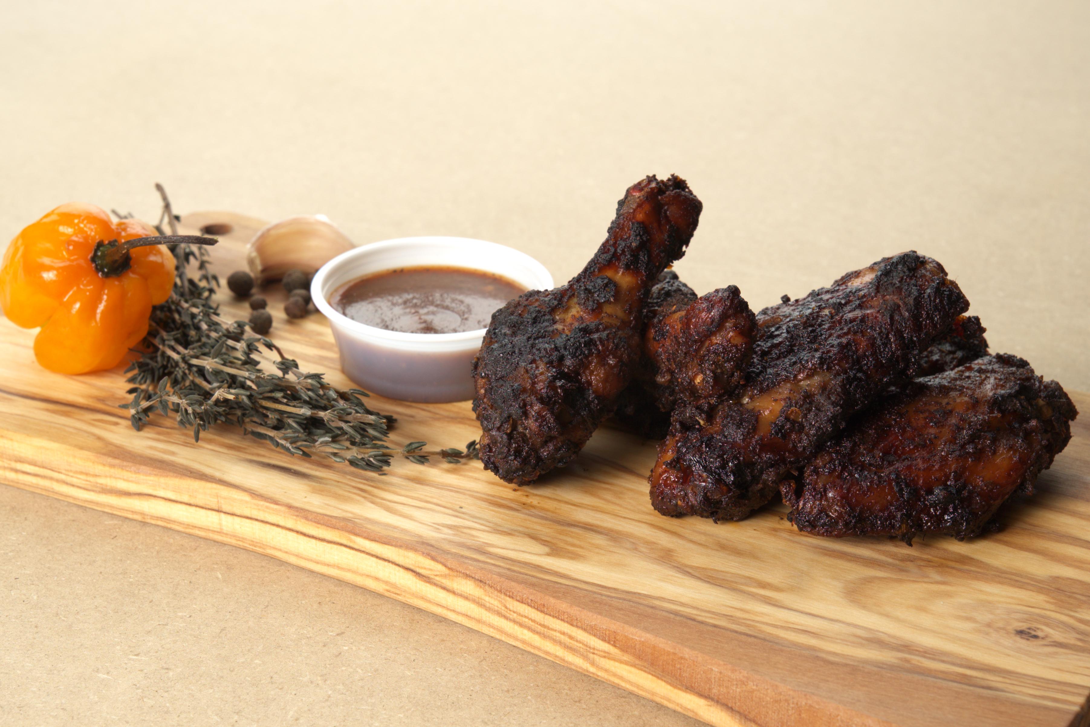 Spicy Jerk Chicken Wings