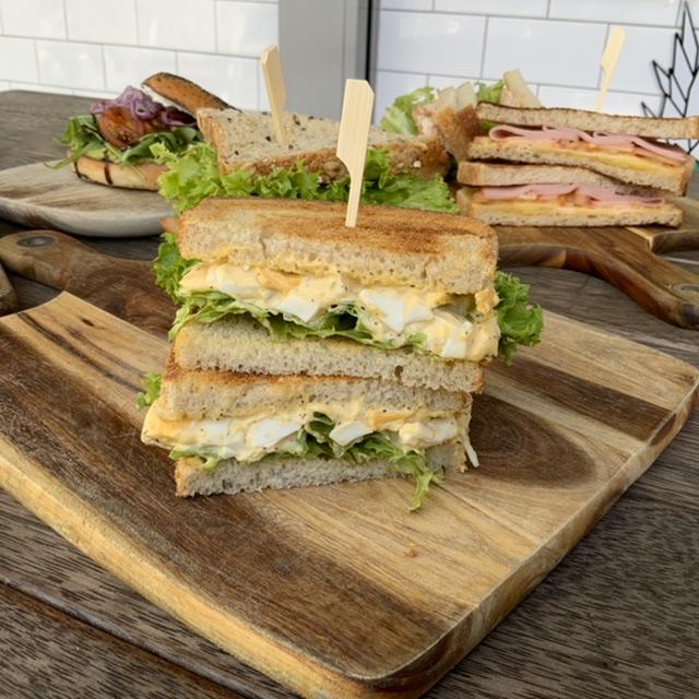 Chunky Egg & Mayo Sandwich