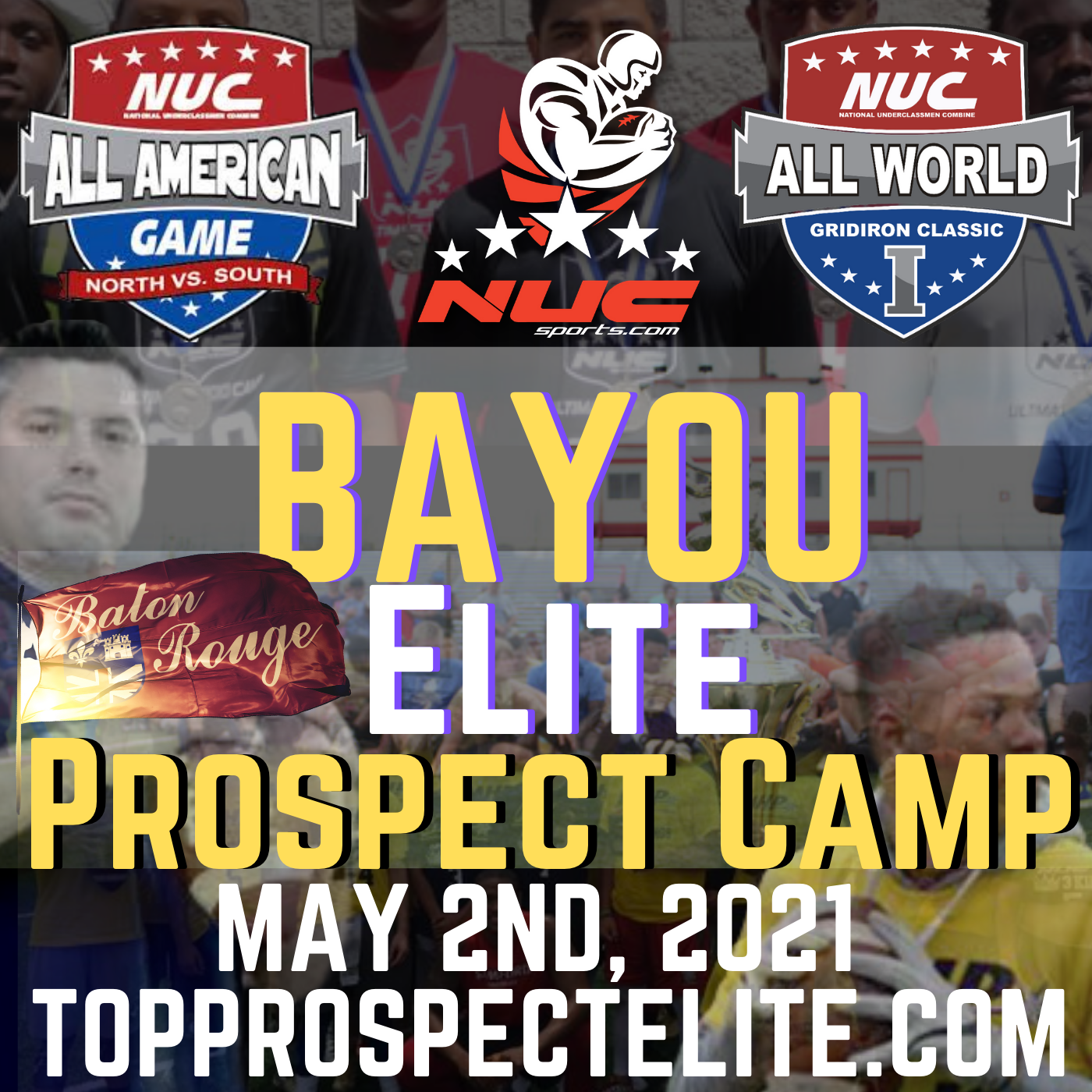 Coach Schuman's Bayou Elite Prospect Camp, May 2nd, 2021 Baton Rouge, LA, Denham Springs HS