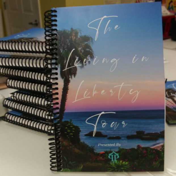 The Living in Liberty Travel Journal