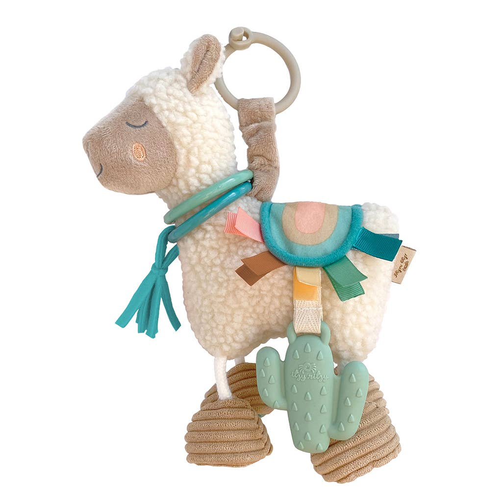 Link & Love™ Llama Activity Plush with Teether Toy