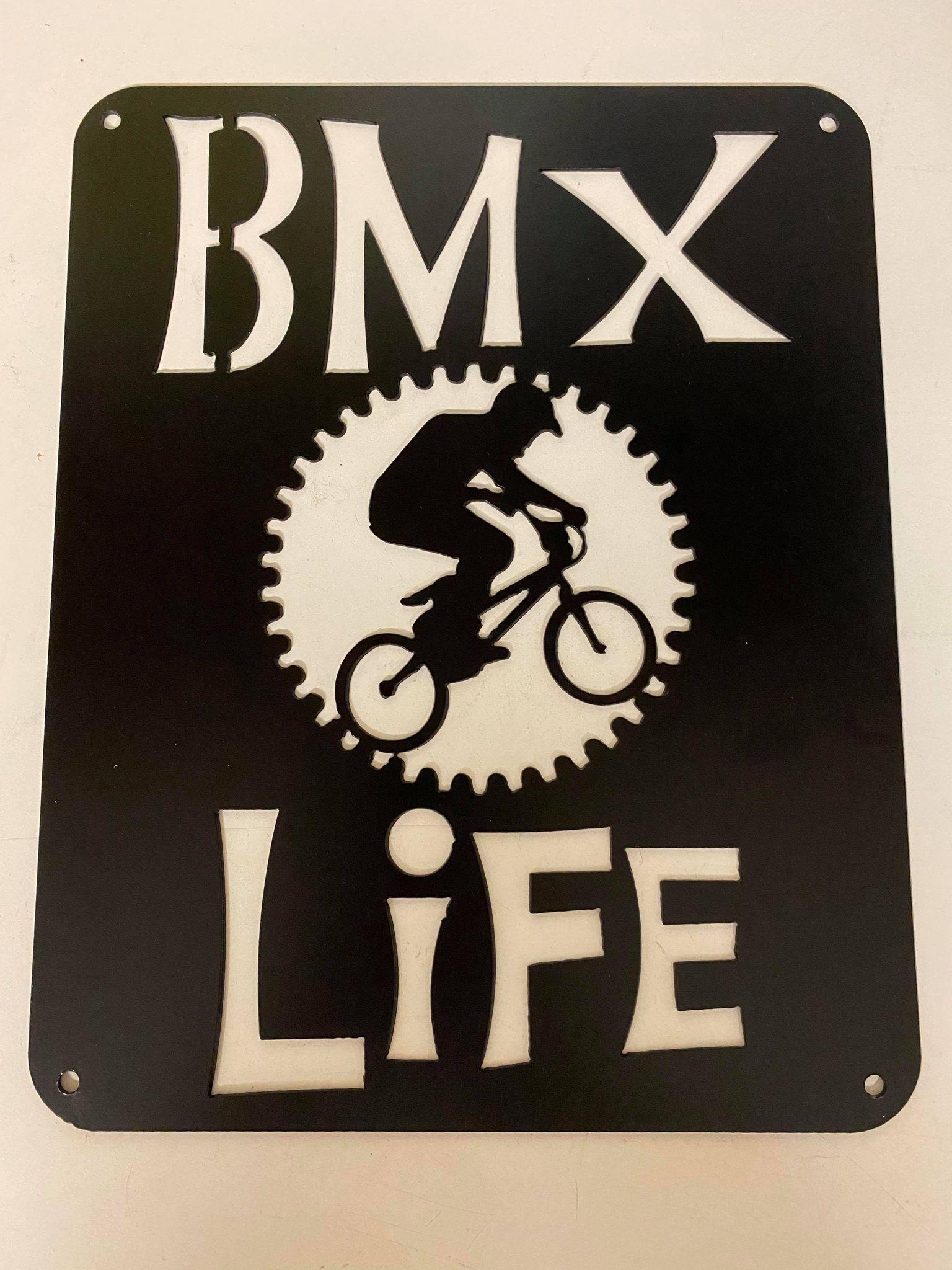Metal BMX Signs