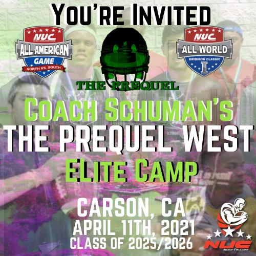 Coach Schuman's Prequel West Elite Prospect Camp, April 11, 2021 Carson, CA