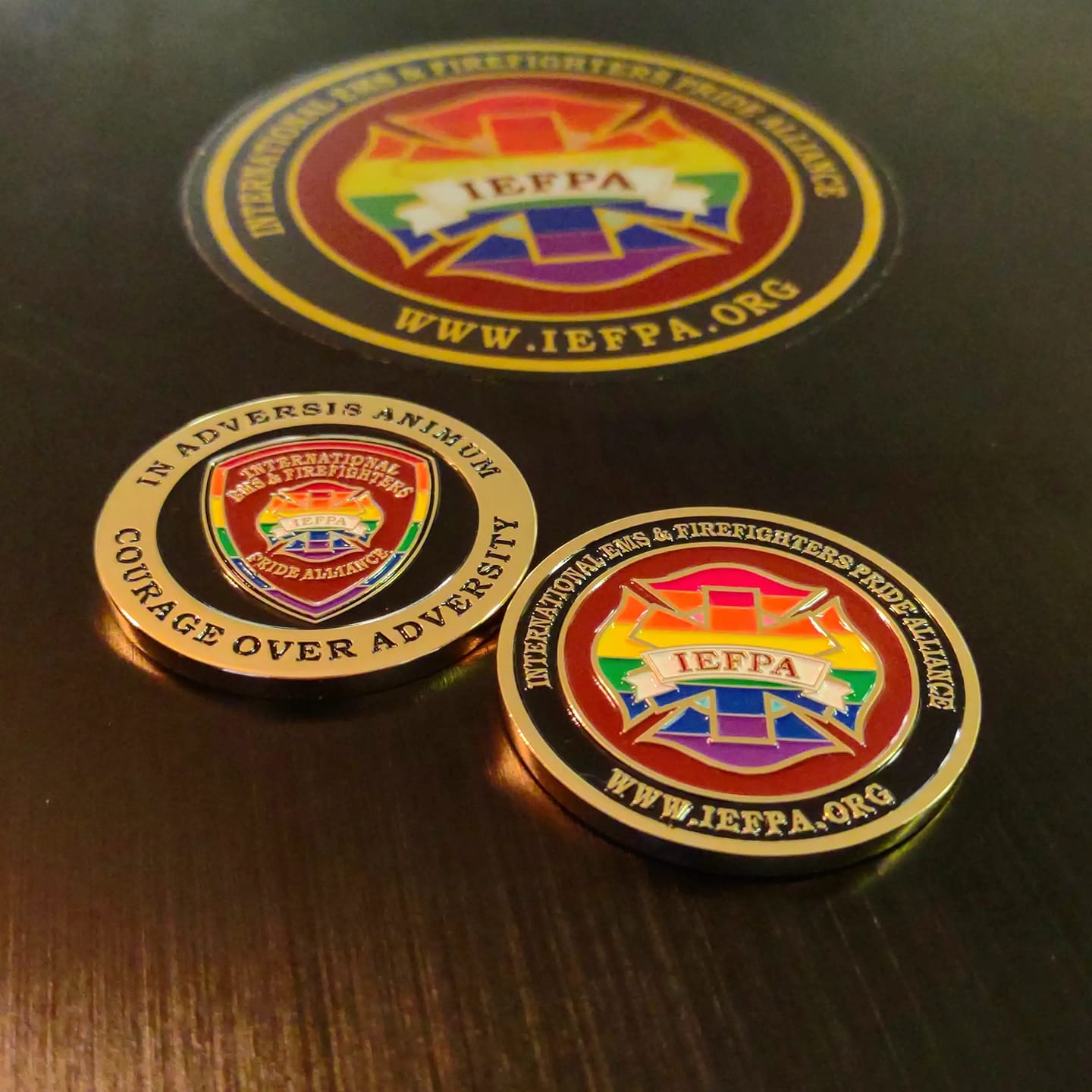 IEFPA Challenge Coin