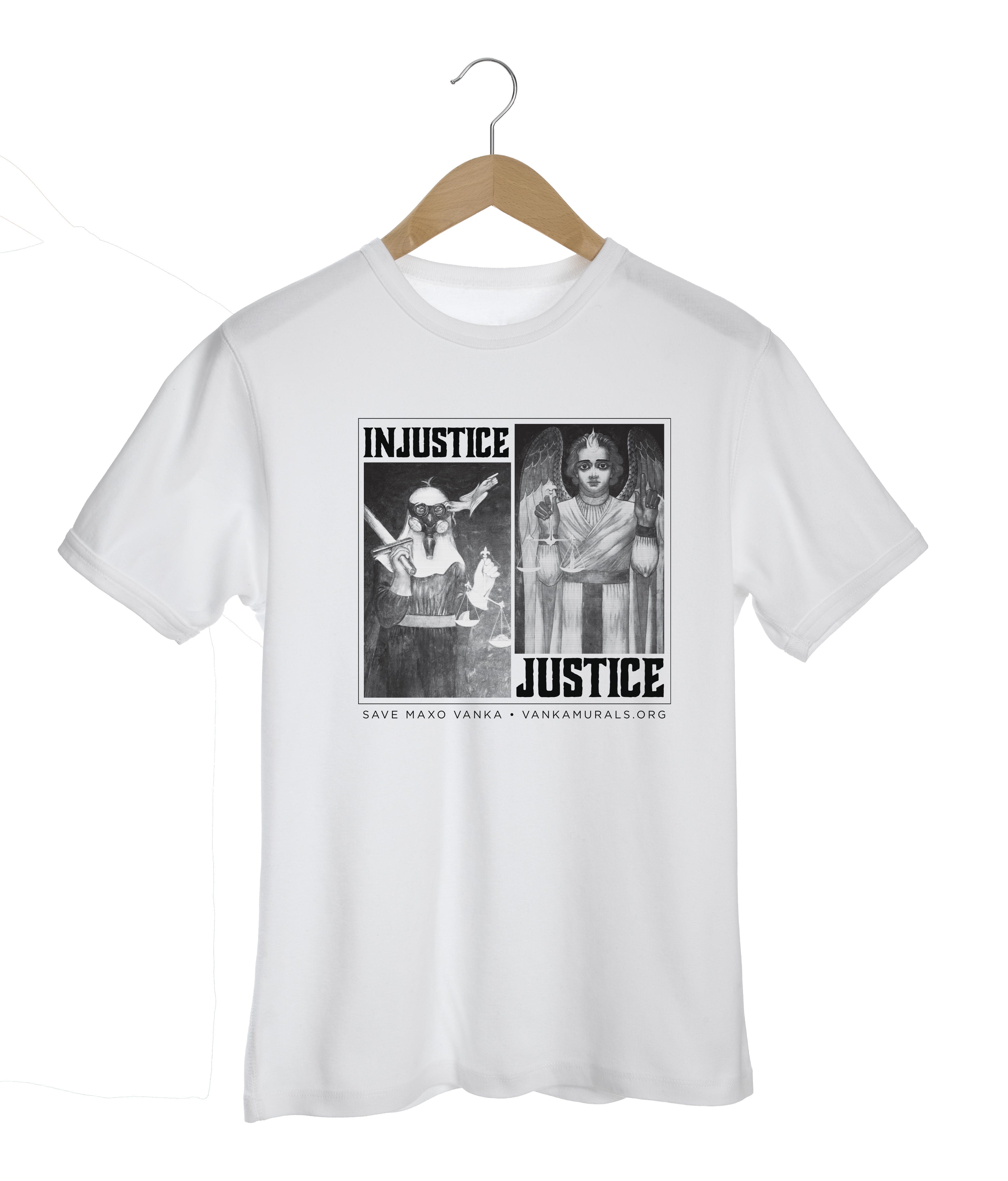 Justice/Injustice T-shirt