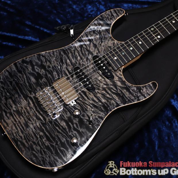 福岡店 T's Guitars DST-Pro22 Quilt SSH -Charcoal-