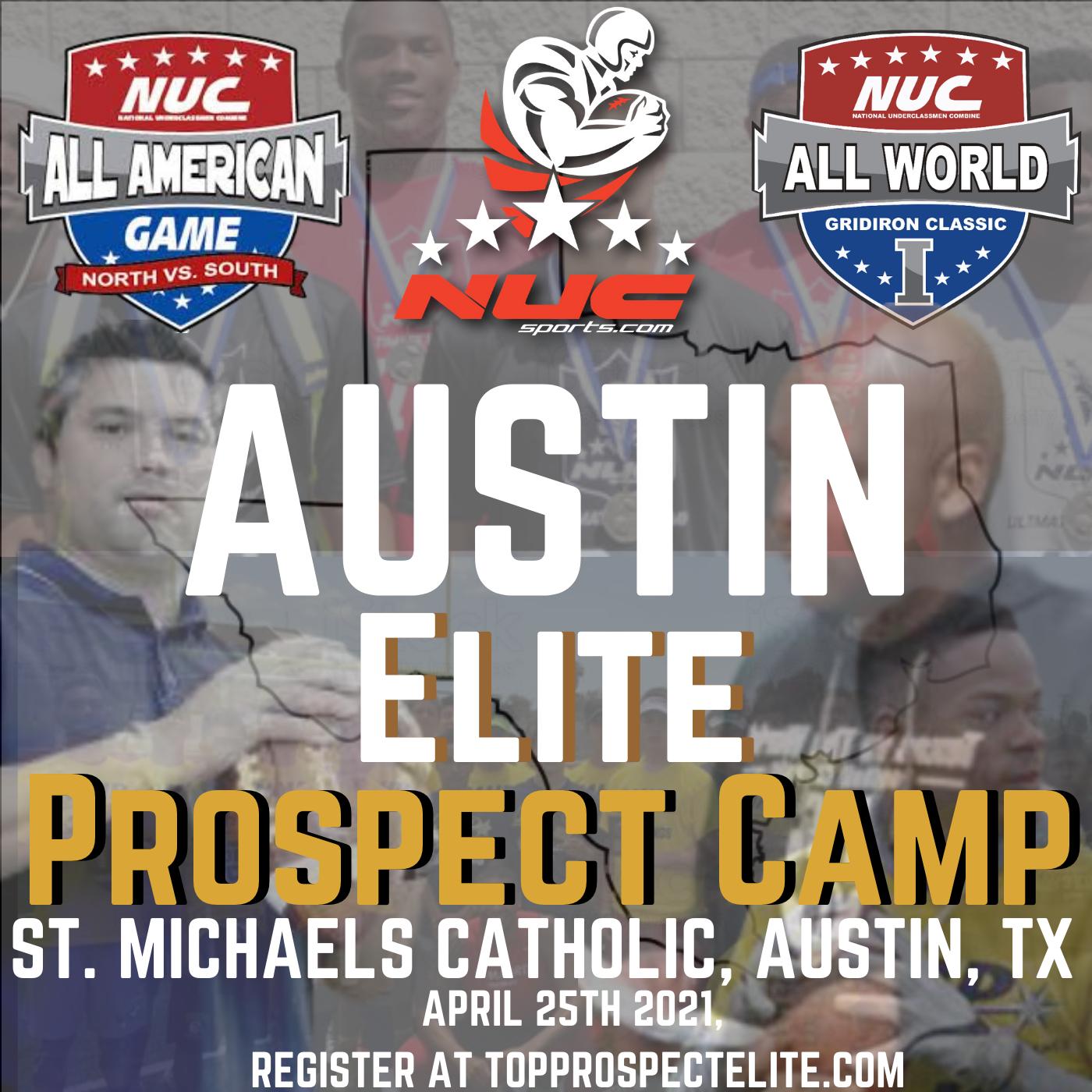 Coach Schuman's Austin Elite Prospect Showdown Camp, April 24th, 2022 St. Michael's Academy, Austin, TX