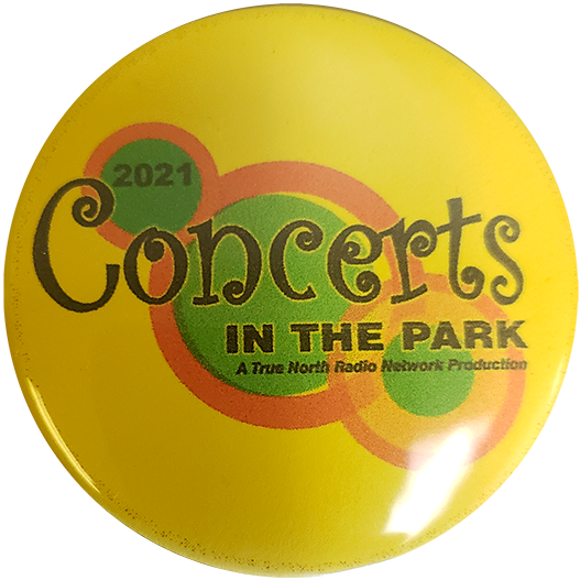 Concerts in the Park '21 Button