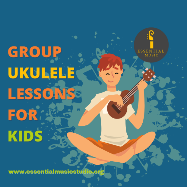 Group Ukulele Lessons for Children & Youth