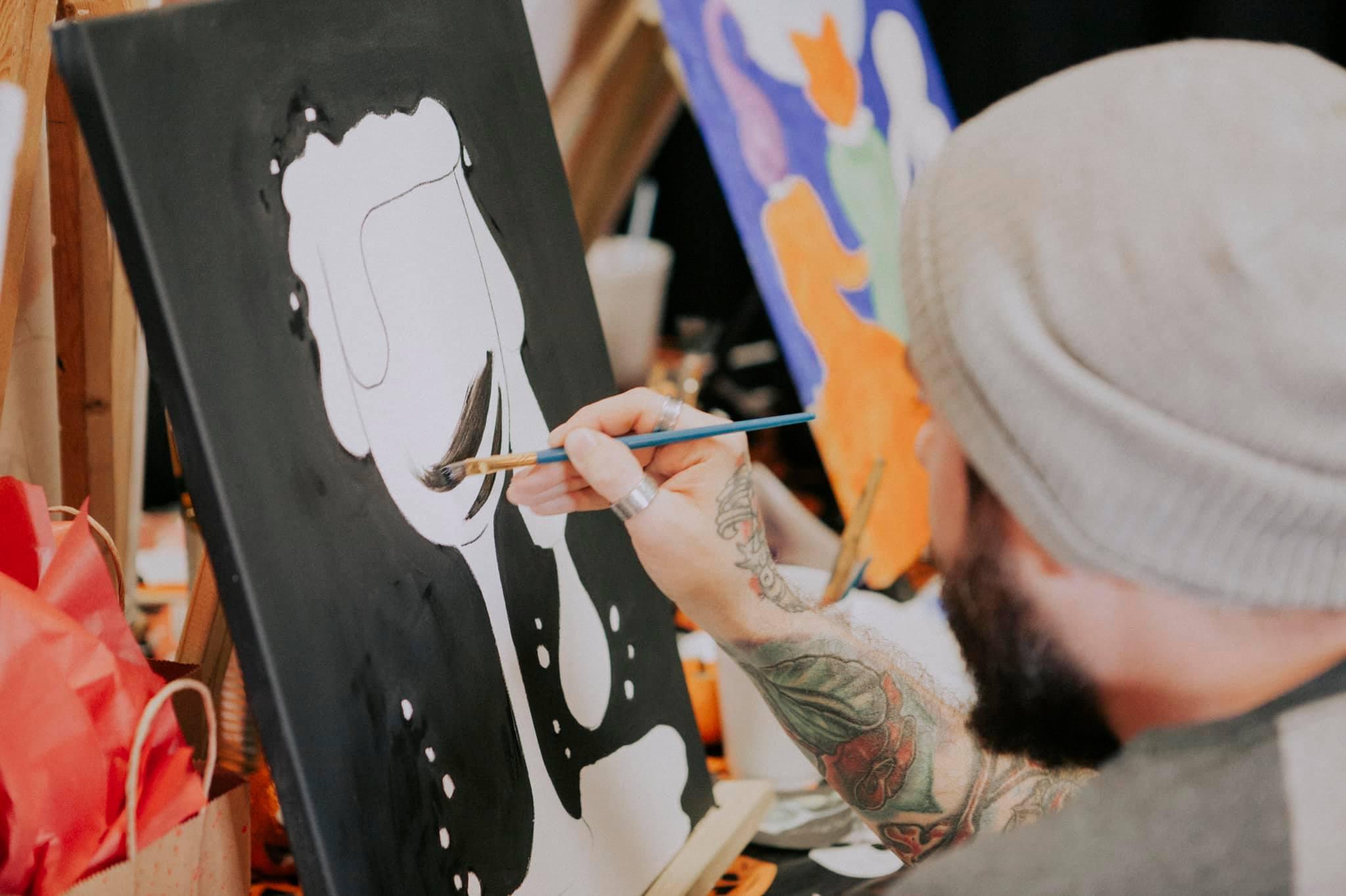Summer Paint Night at Revolution Ink Gallery | June 20th