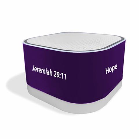 Mini Bluetooth Purple Speaker - Jeremiah