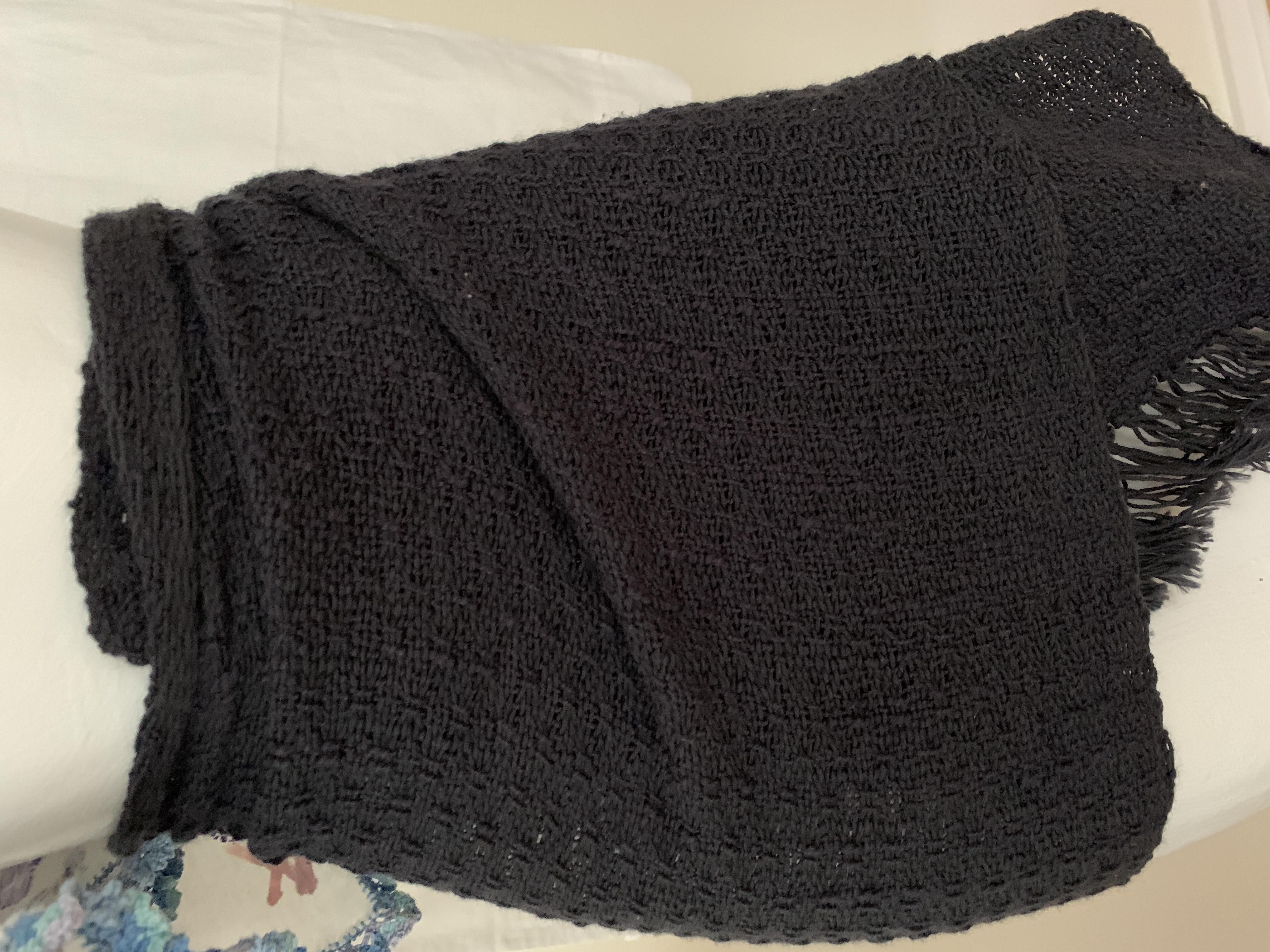Black Lace Sarong