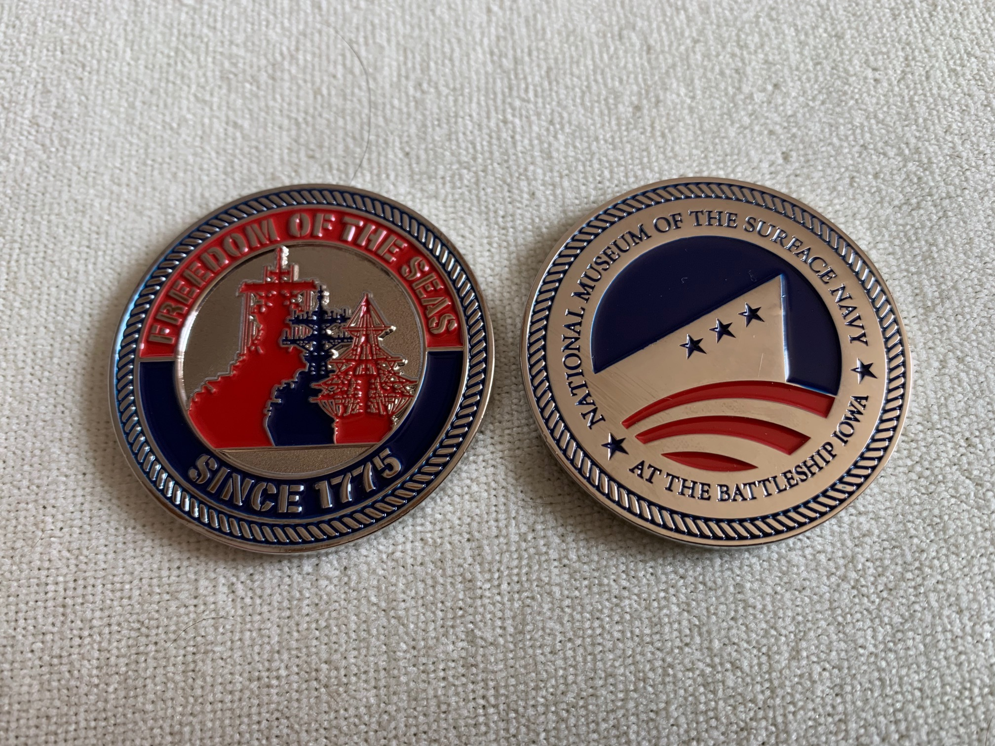 Challenge Coin - National Museum of the Surface Navy