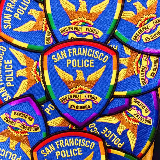 SFPD Pride Patch