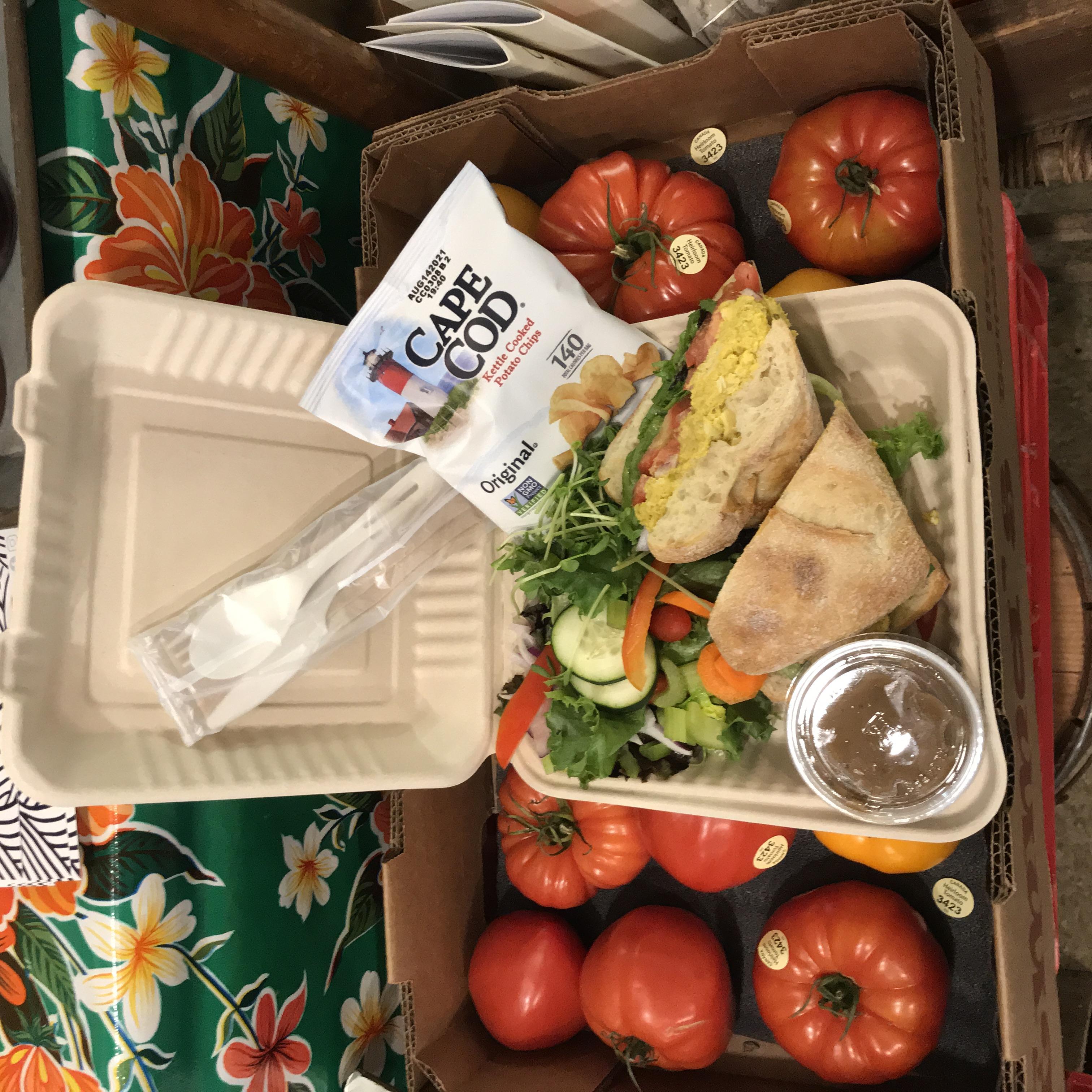 Willowrest Curried Chicken Salad Sandwich or Wrap