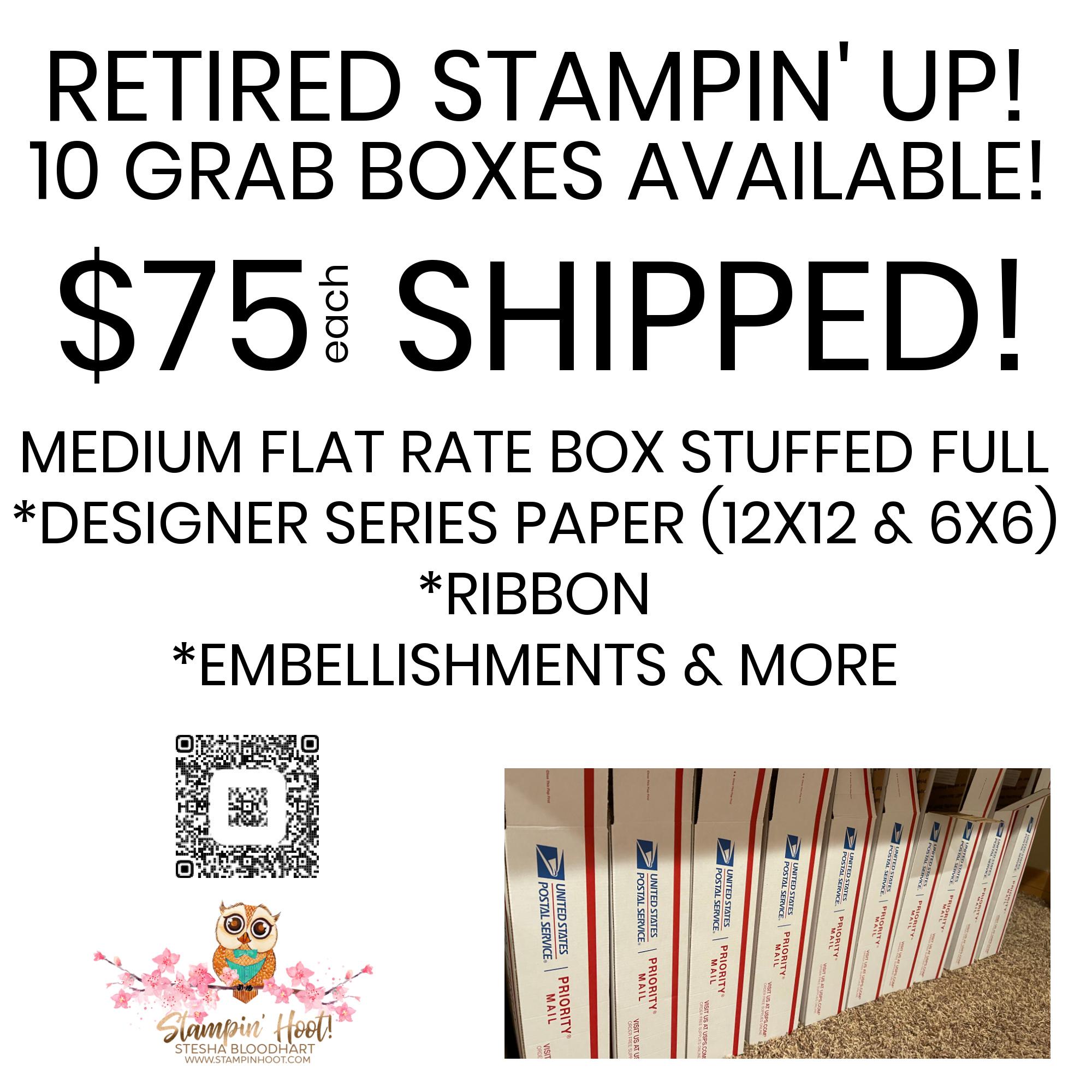 Grab Box - Medium Flat Rate