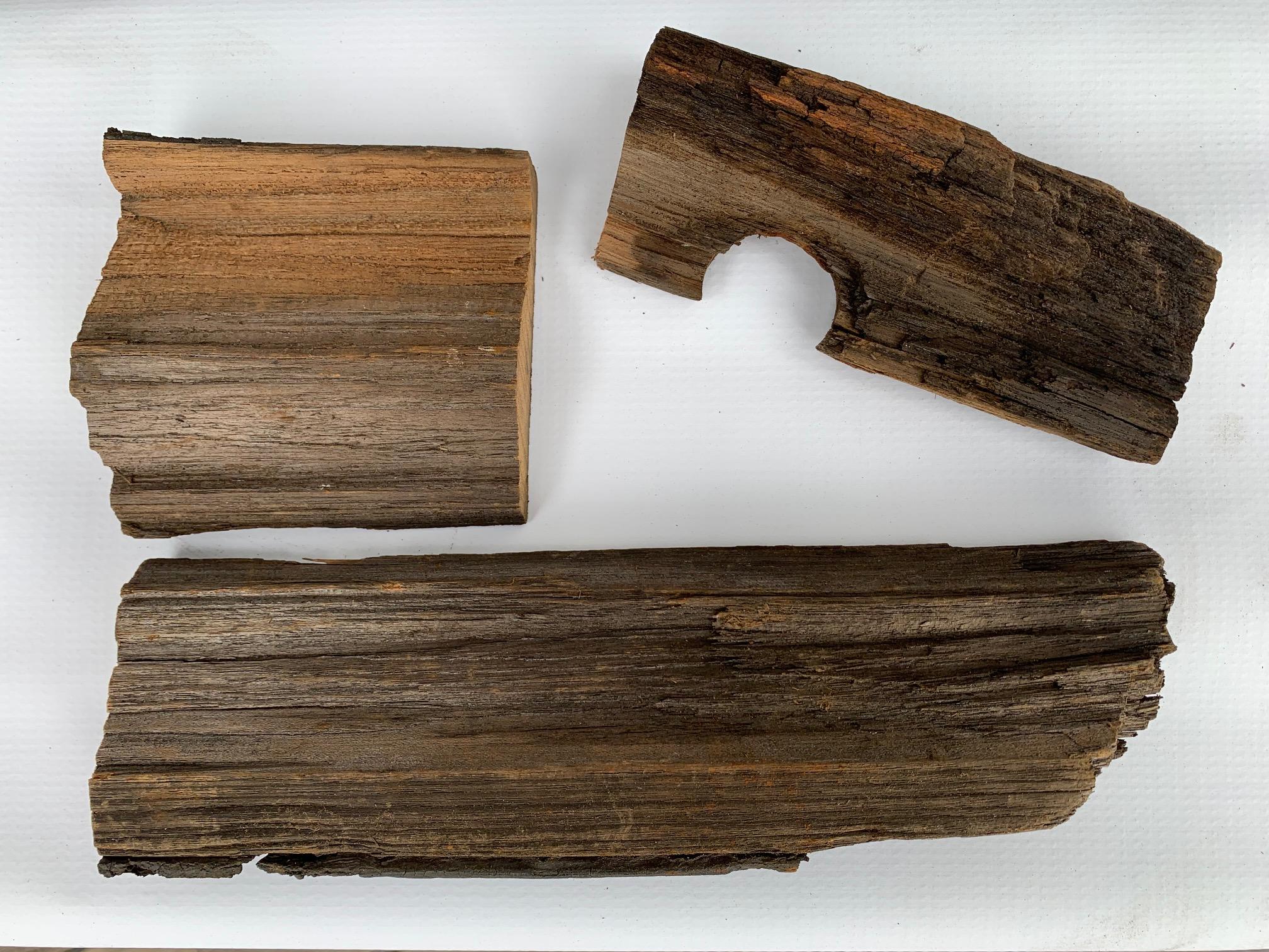 Scrap deck wood