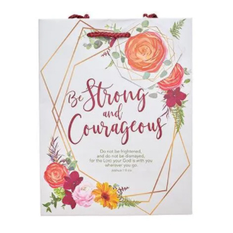 Gift Bag - Strong & Courageous