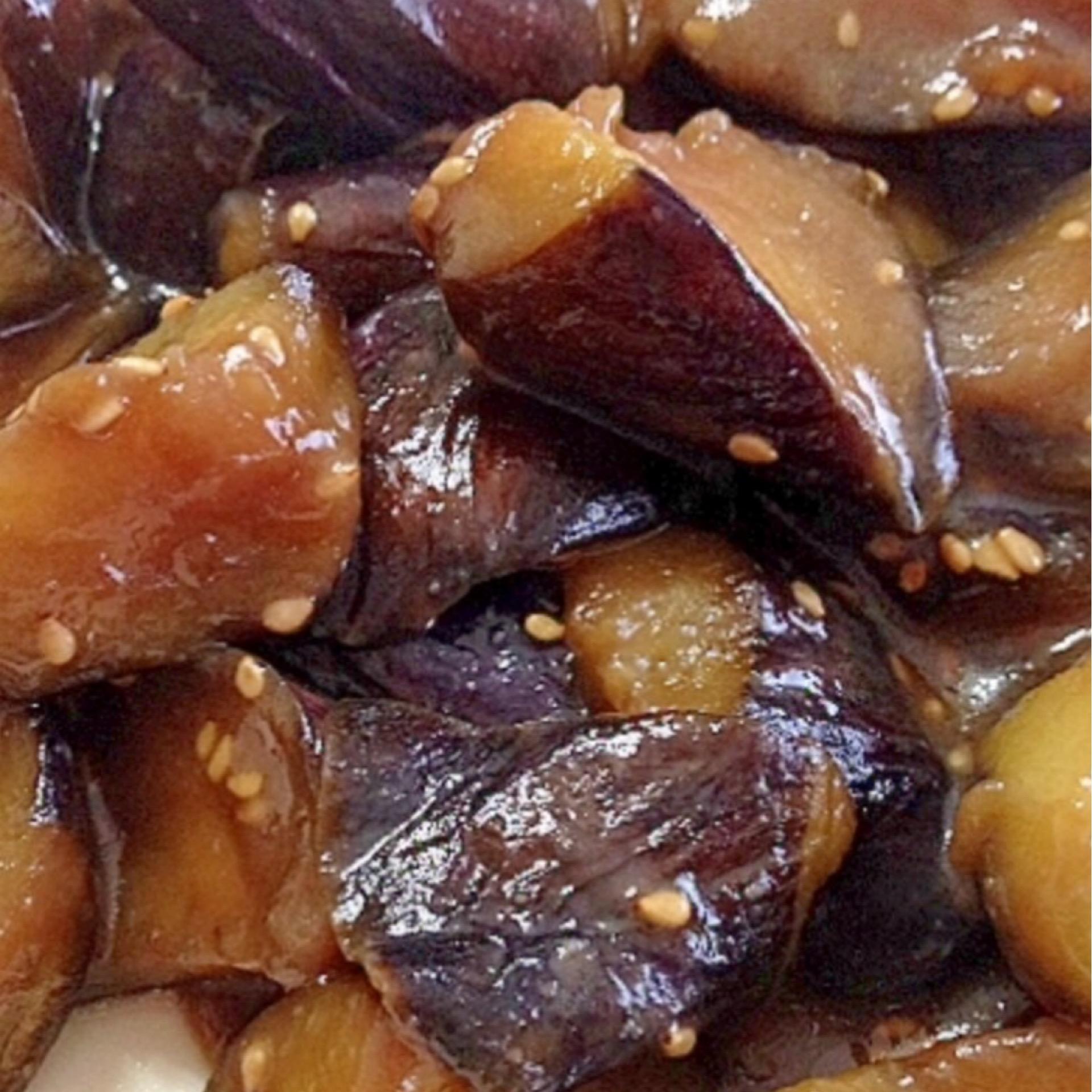 Eggplant Sesame Miso