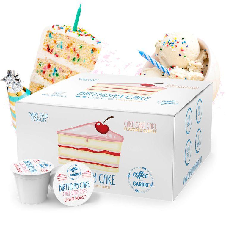 Birthday Cake- Cake, Cake, Cake Coffee