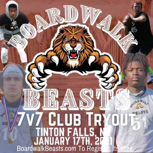 Boardwalk Beast 7v7 Club Tryout #2