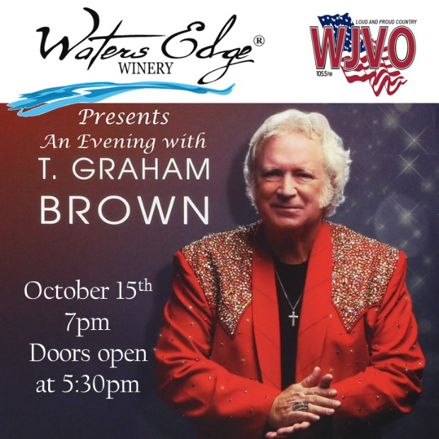 An Evening with T. Graham Brown October 15, 2021